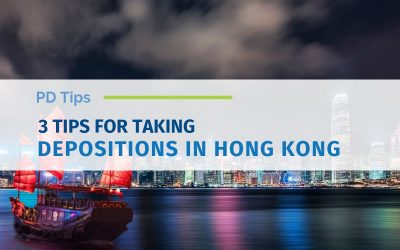 3 Tips for Taking Depositions in Hong Kong (Updated)