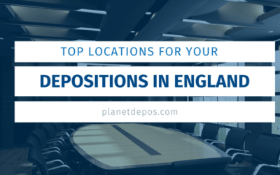 Top Locations for Your Depositions in England