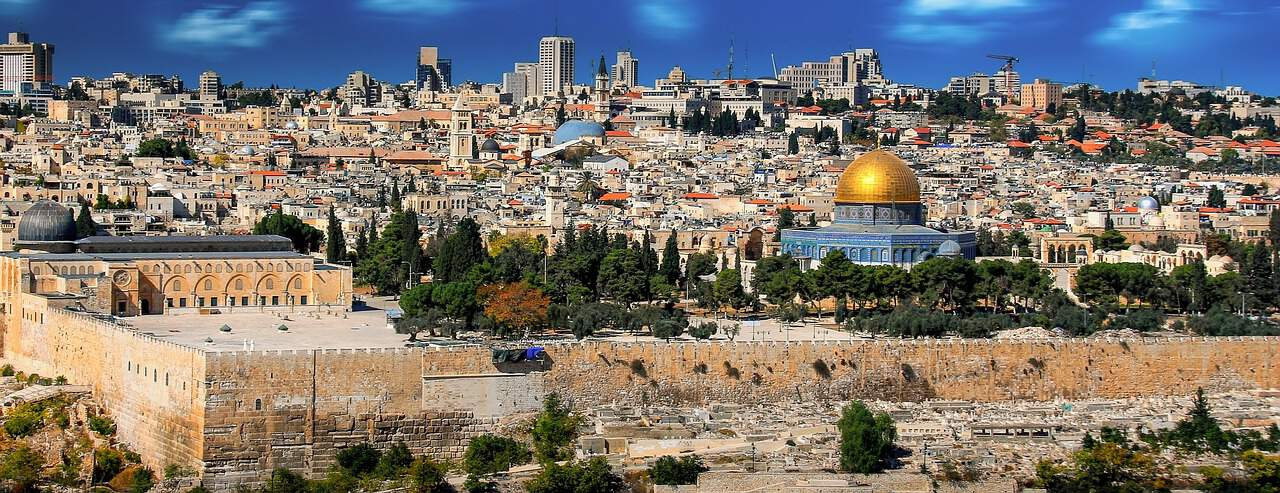 Panoramic picture of Jerusalem, Israel
