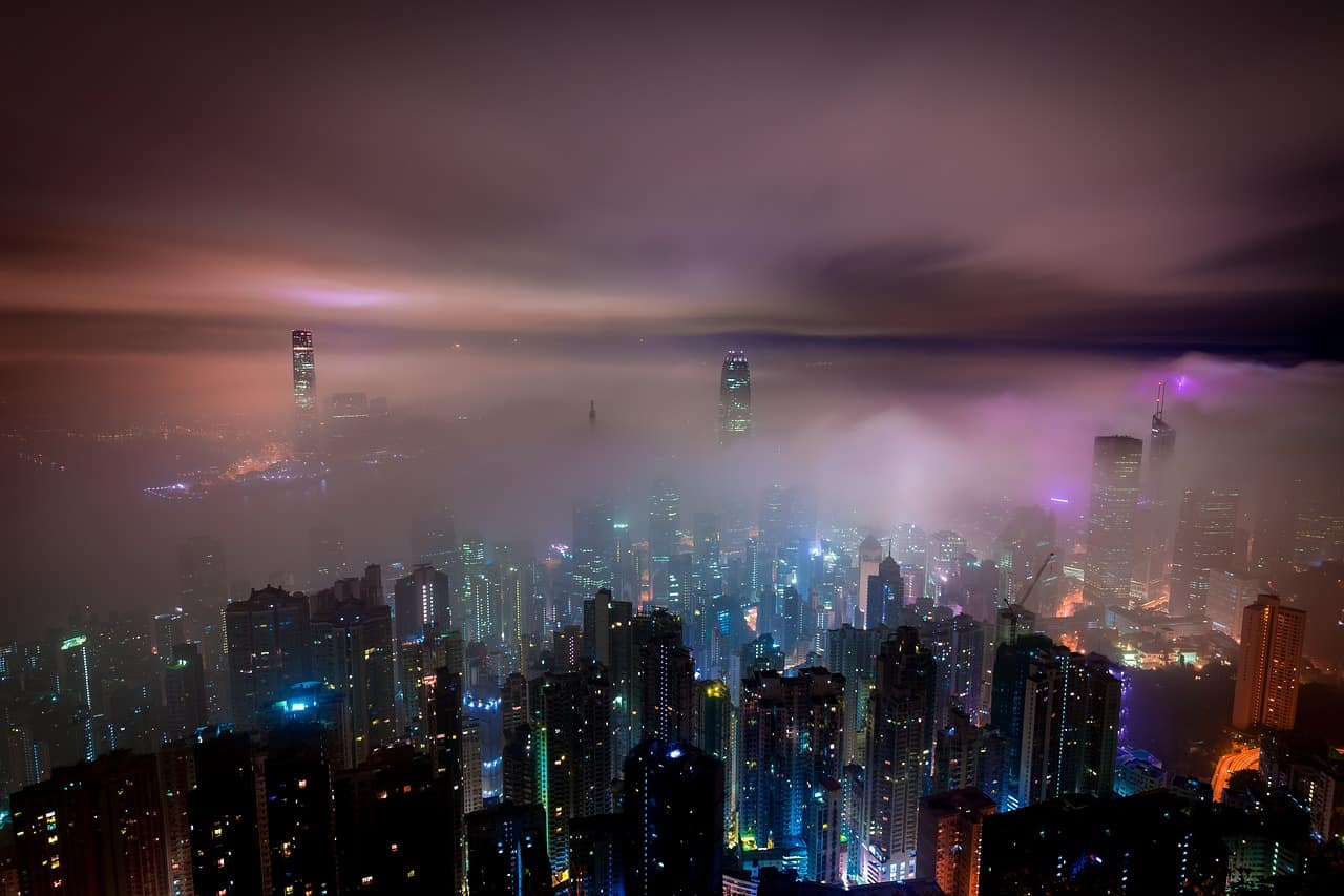 Clouds over Hong Kong