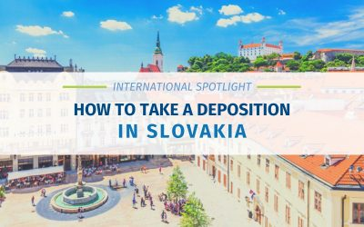 How To Take A Deposition in Slovakia