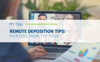 Remote Deposition Tips: Pointers from the Field