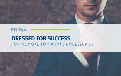 Dressed for Success During Remote Depos (or Any Virtual Meetings)